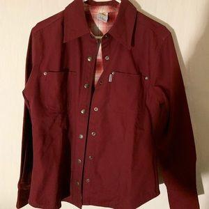Women's shirt jacket